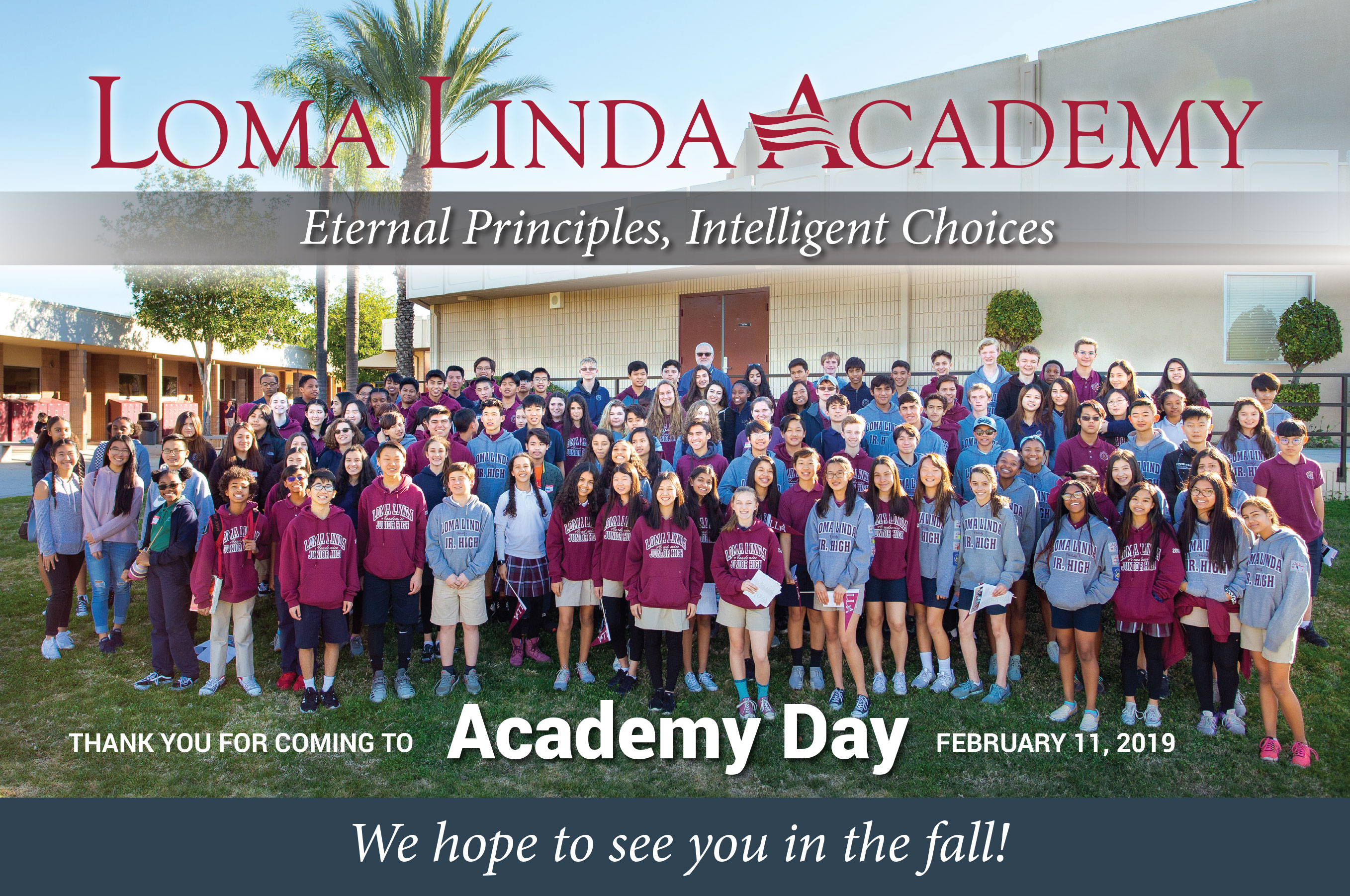 Academy Day Photo